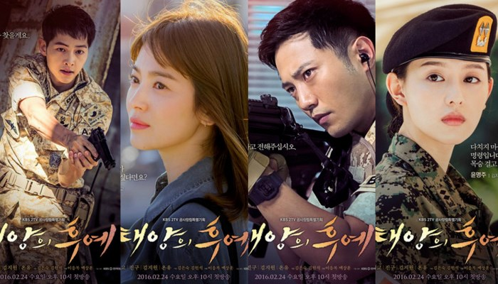 Isi-Liburan-Imlek-KBS-Putar-Ulang-16-Episode-'Descendants-of-the-Sun'-Sehari-Penuh