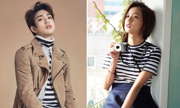 Jinyoung-GOT7-dan-Jisoo-Black-Pink-Jadi-Pembawa-Acara-Baru-'Inkigayo'