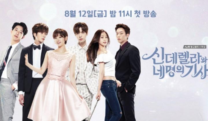 Daftar-Drama-Romantis-yang-Siap-Temani-Suasana-Valentine-di-Bulan-Februari-Cinderella-and-4-Knight