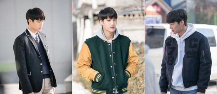 Potret-Kai-EXO-Syuting-Jadi-Anak-SMA-Di-Drama-'Andante'-Tersebar-di-Dunia-Maya.