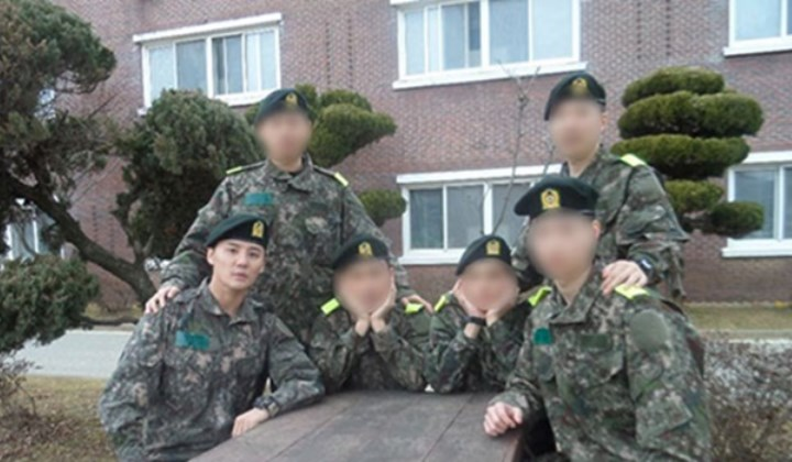 Sebulan-Wamil-Junsu-JYJ-Keren-Pakai-Seragam-Tentara-di-Barak-Militer