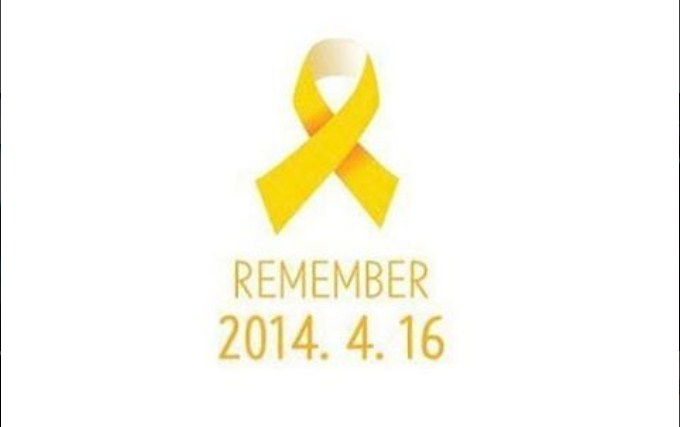Peringati-Tragedi-Sewol,-Artis-Korea-Berlomba-Lomba-Unggah-Pita-Kuning