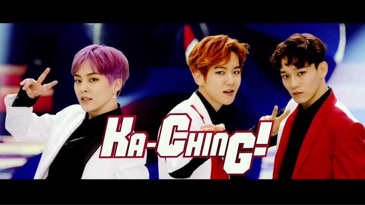Hadirkan-Single-'Ka-Ching!',-Debut-EXO-CBX-D- Jepang-Raih-Hasil-Memukau