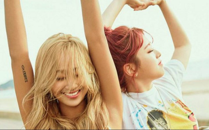 MV-'Fruity'-Kolaborasi-Hyorin-dan-Kisum-Segarkan-Suasana-Musim-Panas