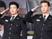 Kang-Ha-Neul-dan-Park-Seo-Joon-Kenakan-Seragam-Polisi-Di- Jumpa-Pers-'Midnight-Runners'.