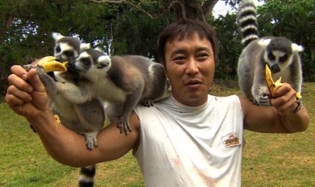 Skydiving-Di-'Law-of-the-Jungle',-Kim-Byung-Man-Cedera-Patah-Tulang-Punggung