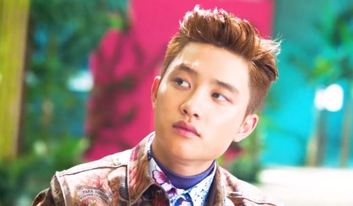 Teaser-Clip-Ke-8-EXO-'The-War',-D.O-Keren-Dengan-Warna-Rambut-Cokelat