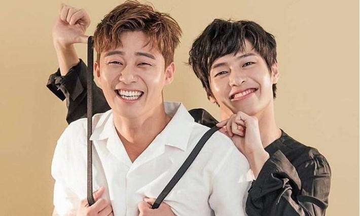 Kocaknya-'Running-Man'-Kedatangan-Park-Seo-Joon-dan-Kang-Ha-Neul-Pamer-Aegyo