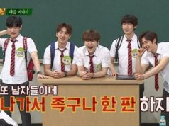 Datang-Ke-'Knowing-Brother',-Jinyoung-B1A4-Disuruh-Ajak-Park-Bo-Gum