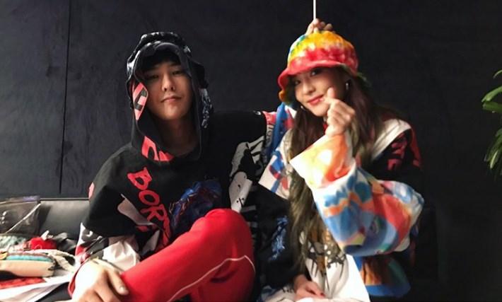 Sering-Dirumorkan-Berkencan,-Duet-G-Dragon-dan-Dara-Di-Konser-'M.O.T.T.E'-Manila-Heboh