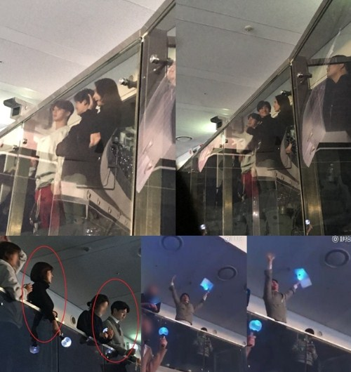 Bertabur-Bintang,-Serunya-Yoona-SNSD-Hingga-Park-Bo-Gum-Nonton-Konser-BTS.
