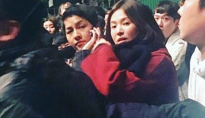Pengantin-Baru-Super-Kompak,-Song-Joong-Ki-Dan-Song-Hye-Kyo-Kepergok-Nonton-Konser-IU