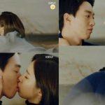 Behind-The-Scene-Adegan-Ciuman-Kim-Rae-Won-Dan-Shin-Se-Kyung-Di-'Black-Knight'-Manis-Abis! (2)