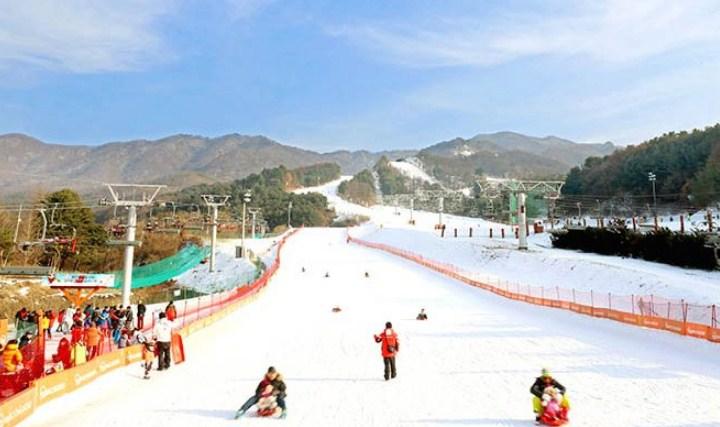 Tempat-Wisata-Di-Korea-Selatan-Saat-Musim-Dingin-Bearstown-Resort