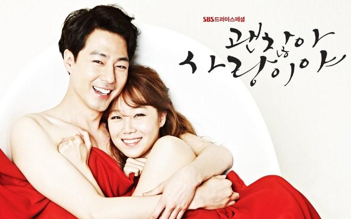 Bikin-Panas-Dingin,-Deretan-Drama-Korea-Ini-Bertabur-Adegan-Ciuman-Panas-It's-Okay-Thats-Love