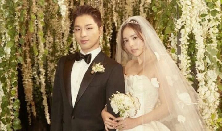 Resmi-Jadi-Suami-Istri,-Taeyang-Big-Bang-Dan-Min-Hyo-Rin-Banjir-Ucapan-Selamat