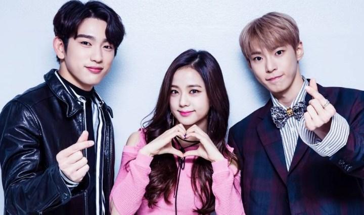 Setahun-Bersama,-Jinyoung-GOT7,-Jisoo-Black-Pink,-dan-Doyoung-NCT-Resmi-Tinggalkan-'Inkigayo'