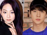 Sehun-EXO-Jadi-Pasangan-Mina-Gugudan-Di-Web-Film-'Dokgo-Rewind'
