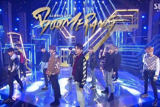 Lagu-'Boomerang'-Kembali-Rebut-Trofi,-Total-4-Kemenangan-Mingguan-Untuk-Wanna-One