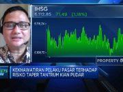 Kekhawatiran Efek Tapering Memudar, IHSG Menguat Lebih 1%