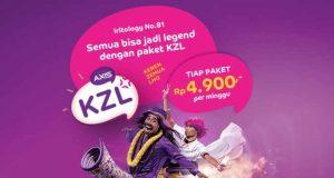 Daftar Harga Paket Data Internet Unlimited KZL AXIS Terbaru