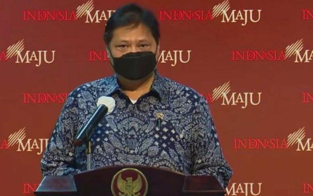 Menteri Koordinator Bidang Perekonomian Airlangga Hartarto. - Youtube Sekretariat Presiden