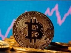 Ilustrasi Mata Uang Kripto Bitcoin - Antara