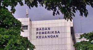 Gedung Badan Pemeriksa Keuangan (BPK) di Jakarta, Kamis (24/6/2021). Bisnis - Fanny Kusumawardhani